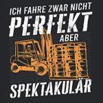 Ich Fahre Zwar Nicht Perfekt Aber Spektakulär: Liniertes Notizbuch (120 Seiten, ca. DIN A5)