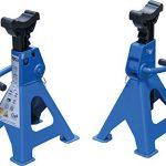 BGS 3015 | Unterstellböcke | Traglast 3000 kg / Paar | Hub 276 - 420 mm | 1 Paar | verstellbar | inkl. Gummiauflage